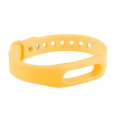 HKS Replacement Wrist Band For Xiaomi Mi Band (Yellow) (Intl)