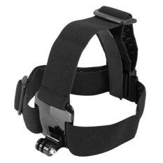 HKS TECHO Elastic Adjustable Head Strap Mount with Anti-Slide Glue (Black) (Intl)