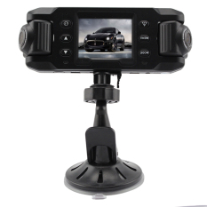 HKS X8000 Dual Lens Car DVR Camera (Intl)