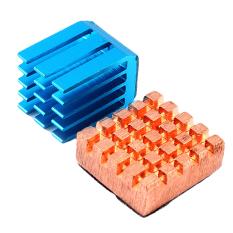 Hot Sale Copper Aluminum Cooling Heat Sink Kit For Raspberry Pi B + & Raspberry Pi 2 - Intl