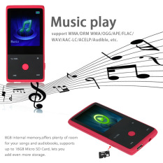 HOTT MU103.2015 Bluetooth MP3 Player 8GB 1.8 Inch Screen Sports MP3 Player High Quality Lossless Recorder FM E-Book Clock