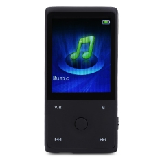 HOTT MU1036 Bluetooth Portable 1.8 Inch FM Radio 8GB Memory MP3 Lossless Music Player (Black) - Intl