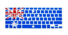 HRH Flag Pattern Silicone Waterproof Keyboard Protector Cover Film For Apple Macbook Pro Retina 1.15 17 Air 13 Inch (Australian Flag) - Intl