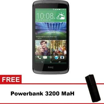HTC Desire 526G - 8 GB - Abu-abu + Gratis Powerbank Advance 3200 mAh