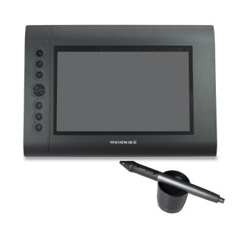 HUION H610 Pen Graphic Tablet Medium – Abu-abu