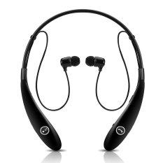 HV-900 Wireless Bluetooth Headset In-Ear Earbuds Earphone Headphone (Ultra Lightweight Neckband Design Plus Astonishing Sound Quality) Black - Intl