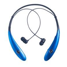 HV-900 Wireless Bluetooth Headset In-Ear Earbuds Earphone Headphone (Ultra Lightweight Neckband Design Plus Astonishing Sound Quality) Blue