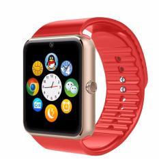 I-ONe Jam Tangan Pria - Strap Rubber - Smartwatch GT08 - merah