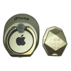 I-Ring Stand Holder Hook Logo iPhone - Gold