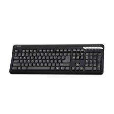 I-Rocks Slim Keyboard Usb Wired 20Jt Kali Ketik, W / Multimedia Button KR6310