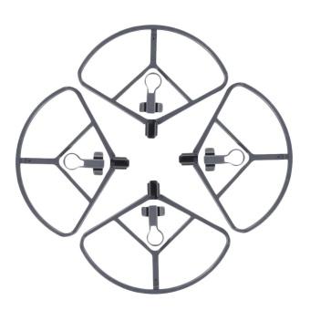 iBelieve 4Pcs Plastic Propeller Guard Bumper Blade Crash ProtectorFor DJI Mavic Pro Drone (Silver gray