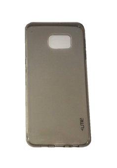 Ume Samsung Galaxy S6 Edge+ / Samsung Galaxy S6 Edge Plus / Samsung S6 Edge+ / Samsung Note 5 Edge Ultrathin / Silikon Samsung S6 Edge Plus / Silicone / Ultra Thin - Hitam Transparan
