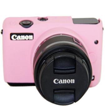 Harga Terbaru Karet silikon lembut kamera pelindung tubuh pelindung penutup tas kulit untuk Canon EOS M10