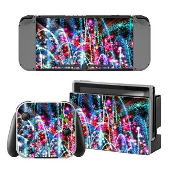 NEW Game Decal Skin Sticker Anti-dust PVC Protector For Nintendo Switch Console ZY-Switch-0029 - intl