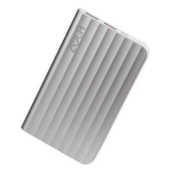 Jual Zola Powerbank RIpple 6000mAh - Silver Harga Termurah Rp 259000.00. Beli Sekarang dan Dapatkan Diskonnya.