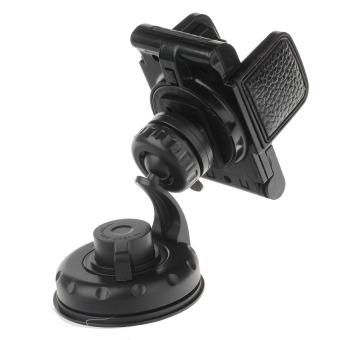 ZUNCLE 360 Degree Rotatable Universal Suction Cup Car Mount Holder Bracket for GPS / PDA (Black)