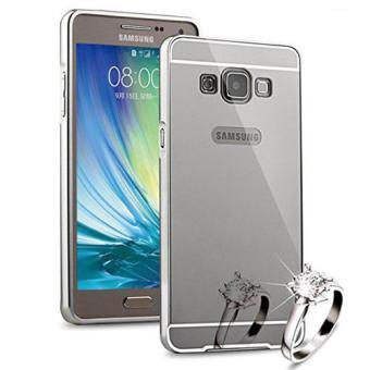 ... Case Samsung Galaxy On 7 Bumper Mirror Slide Silver