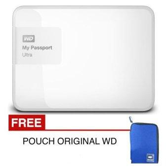 Jual WD New Passport Ultra 1 TB Putih PREMIUM STORAGE + Free Pouch Harga Termurah Rp 1500000.00. Beli Sekarang dan Dapatkan Diskonnya.