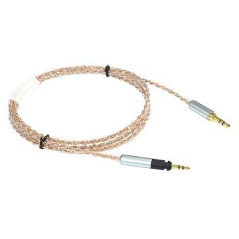 ZY HiFi Cable Sennheiser HD598 HD595 HD518 HD558 6N OCC ZY-060 (Clear)
