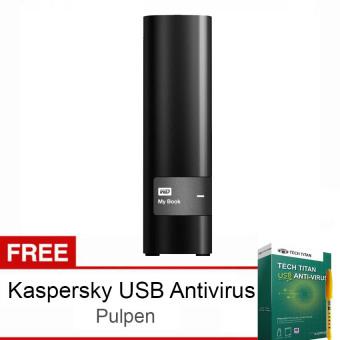 Jual Western Digital Mybook Essential 3 TB - Hitam + Bonus Kaspersky USB Antivirus + Pulpen WD Harga Termurah Rp 1999000.00. Beli Sekarang dan Dapatkan Diskonnya.