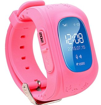 2Cool SmartWatch Kids Anti Lose GPS Tracker for Girls SOS Emergency PinkChildren Smart watch for Iphone Android Samsung Phone - intl
