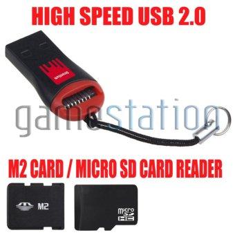 Harga GStation High Speed USB 2.0 Mini Micro SD T-Flash TF M2 Memory Card