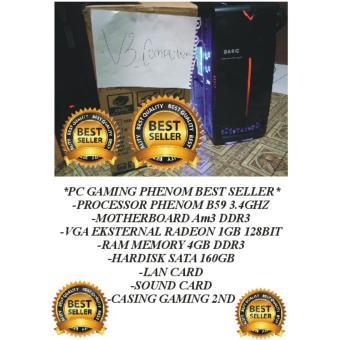 Jual Komputer PC Gaming Amd Phenom B59 3.4Ghz-Vga 2Gb HM Harga Termurah Rp 1999900.00. Beli Sekarang dan Dapatkan Diskonnya.