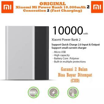 Jual Xiaomi Mi Power Bank 10.000mAh 2 Fast Charging - Generasi 2 Harga Termurah Rp 299000.00. Beli Sekarang dan Dapatkan Diskonnya.