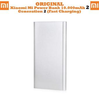 Jual Xiaomi Mi Pro 2 PowerBank 10000mAh Qualcomm Quick Charge 2.0 - Silver Harga Termurah Rp 229000.00. Beli Sekarang dan Dapatkan Diskonnya.