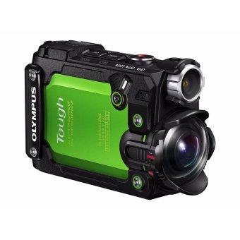 Olympus Stylus Tough TG-Tracker 4K Waterproof Action Camera – [Green] – intl