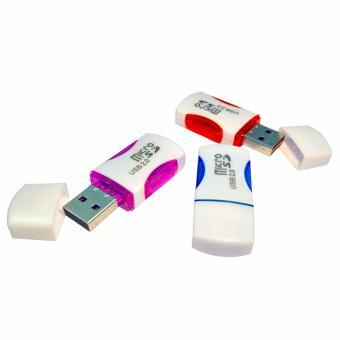 Harga Aimons Card Reader 1 Slot Micro SD USB 2.0 - Random Colour