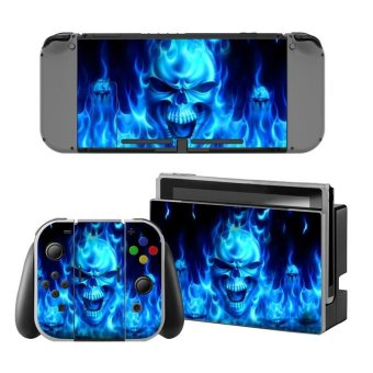 Decal Human skeleton Skin Sticker Dust Protector For Nintendo Switch Console ZY-Switch-0188 - intl