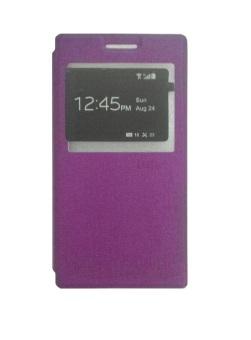 Ume Lenovo P70 View / Flip Cover / Book Cover / Flipshell / Case Cover / Leather Case / Sarung Handphone / Sarung HP / Sarung Lenovo P70 - Ungu