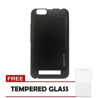 Harga Case Lenovo Vibe C Slim Armor Hitam Tempered Glass