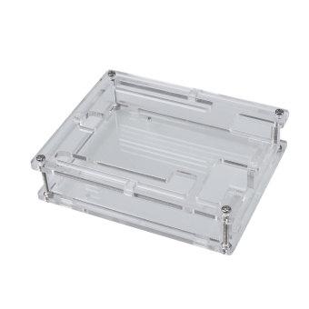 Harga Kotak Akrilik Bening Transparan Penutup Kandang Kotak Kit Untuk Arduino UNO R3