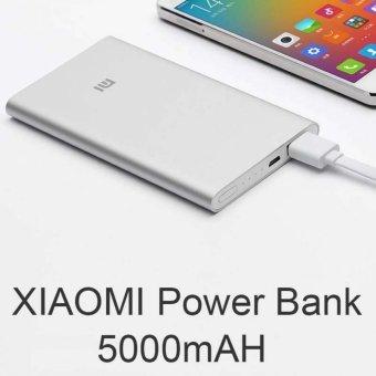 Jual Xiaomi Mi Power Bank 5000 mAh Original - Silver - Free Waterproof Harga Termurah Rp 255000.00. Beli Sekarang dan Dapatkan Diskonnya.