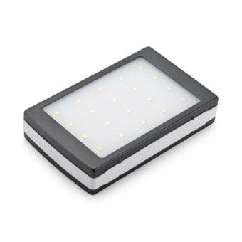 Harga PowerBank Solar Charger 168000 mAh 20 LED - Hitam