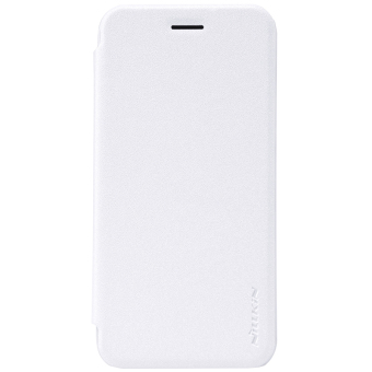 Nillkin Leather Case Sparkle Series Super Thin Flip Cover for ASUS Zenfone Go / ZB452KG (White) - intl