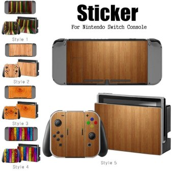 Decal Skin Sticker Dust Protector for Nintendo Switch Console ZY-Switch-0149 - intl