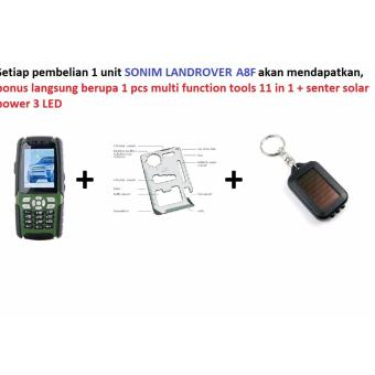 harga HP Outdoor LandRover Sonim A8F HIJAU HP WALKIE TALKIE + TV + RADIO + Dual SIM + Dual ON - Green Hijau Free nonton TV dan dengar RADIO+ walkie talkie gratis selamanya Lazada.co.id