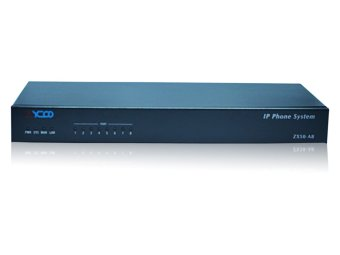 Zycoo IP PABX / IP PBX ZX50 For 100 IP Extension SIP dan 8 CO Line PSTN