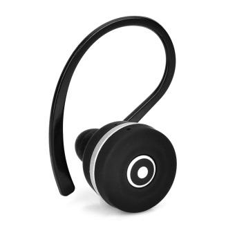 ZY Mini Bluetooth v3.0 inci - Headset telinga - hitam