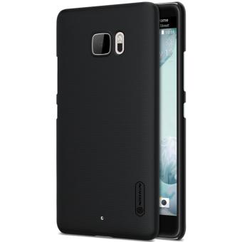Nillkin Super Frosted Shield with Screen Protector Ultra Thin Hard PC Case Back Cover for HTC U Ultra (Black) - intl