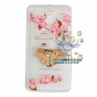 Beauty Case For Xiaomi Redmi 3S Softshell Animasi Vintage Bird + Holder Ring Tape Soft Case