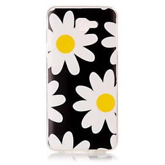 Moonmini Case for Samsung Galaxy J5 Prime Lightweight Soft Silicon Back Case – Daisy – intl