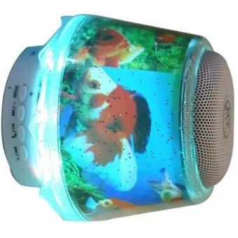... harga Universal Bluetooth Speaker Lamp LED Light with Micro SD Card Good Bass untuk Lampu TIdur