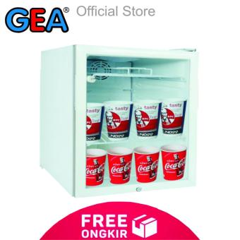 GEA EXPO-50 Showcase Display Cooler [50L] - Putih - KHUSUS JABODETABEK