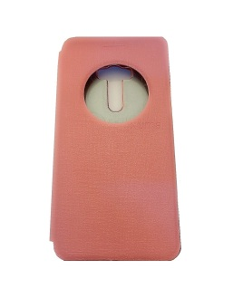 Ume Asus Zenfone Selfie ZD551KL View / Flip Cover / Book Cover / Flipshell / Case Cover / Leather Case / Sarung Handphone / Sarung HP / Sarung Asus Zenfone Selfie - Pink