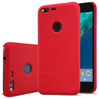 Nillkin Super Frosted Shield with Screen Protector Matte Ultra Thin PC Hard Back Case Cover for Google Pixel XL (Red) - intl