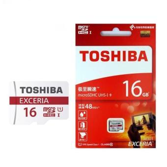 Harga Toshiba Exceria M301 MicroSDHC UHS-I Class 10 16gb - 40mb/s Origginal
